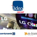 OLED Day, Adeo presenta le soluzioni LG