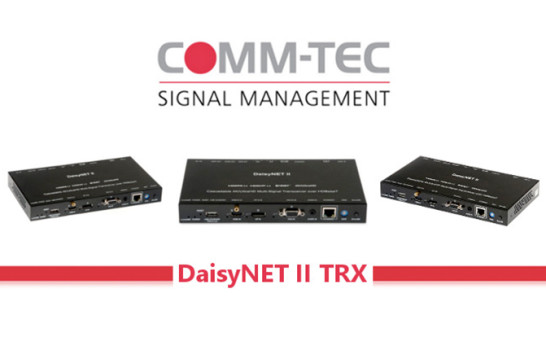 DaisyNET II TRX, il signal management fa un passo avanti