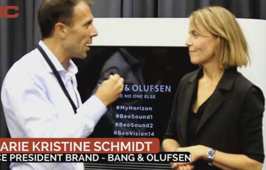 Intervista a Marie Kristine Schmidt, Bang&Olufsen