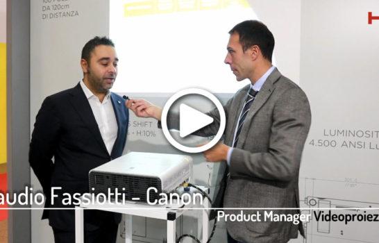 Intervista a Claudio Fassiotti, Canon Italia