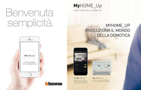 BTicino MyHomeUP, l'app rivoluzionaria