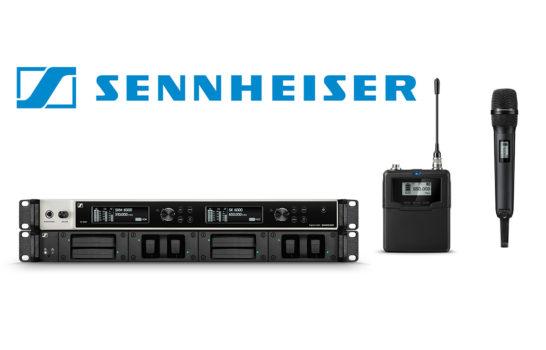 Sennheiser Serie Digital 6000, il wireless avanzato sale di livello