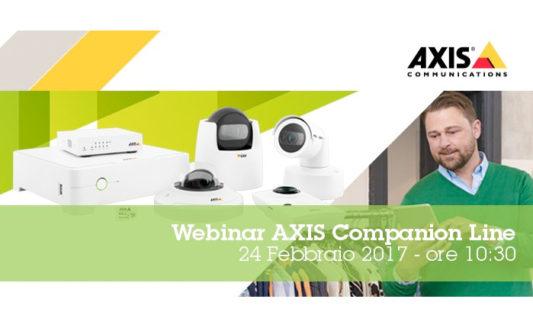 Seminari web Axis Communications, aggiornarsi è facile