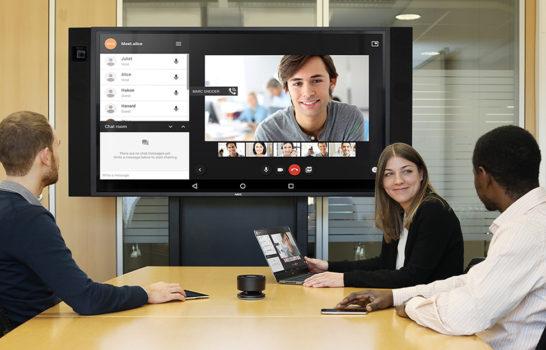 NEC InfinityBoard, la soluzione per meeting creativi e collaborativi