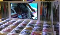 Il digital signage di Samsung a Pitti Immagine Uomo