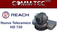 Nuova telecamera pan/tilt da Reach