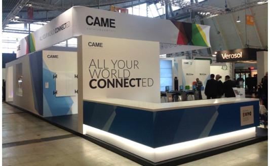 CAME: a R+T il debutto della tecnologia CAME Connect