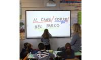 Vecchia lavagna addio: Epson porta in Brianza l'insegnamento digitale
