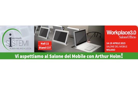 Intermark Sistemi, al Salone del Mobile con Arthur Holm
