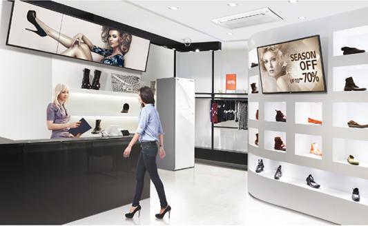 L'efficienza migliora con le soluzioni per il retail di LG e partner
