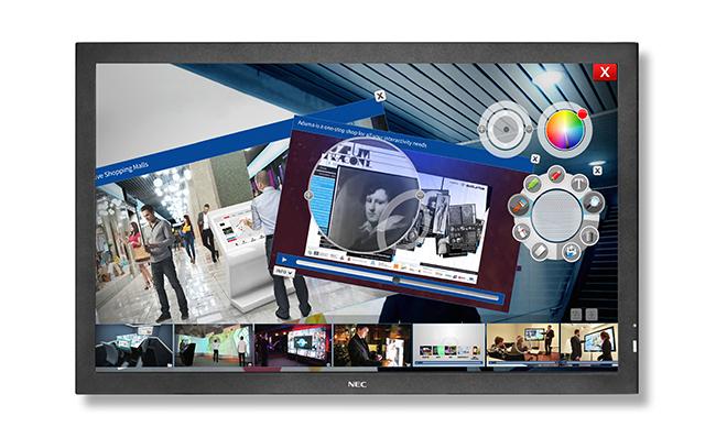 NEC_E705SST-DisplayViewFrontalBlack
