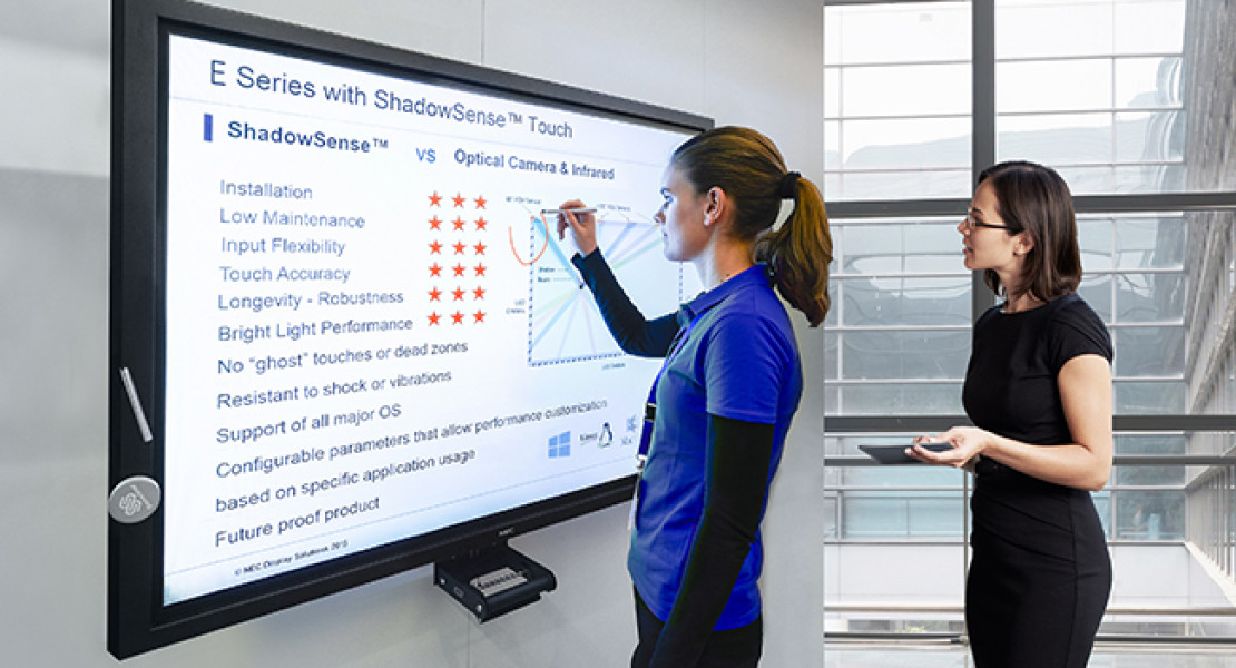 NEC presenta la nuova gamma di display entry-level Serie E di grande formato