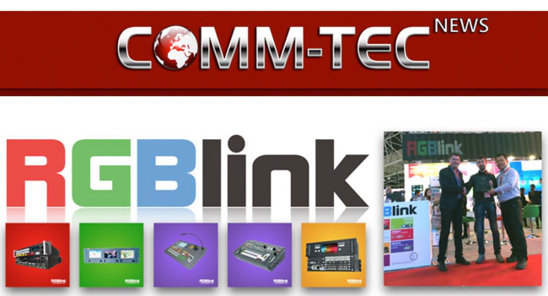 RGBlink sceglie Comm-Tec per la distribuzione