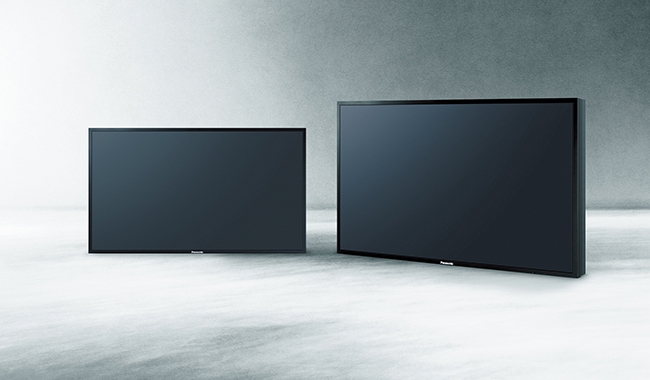 Panasonic 4K side by side