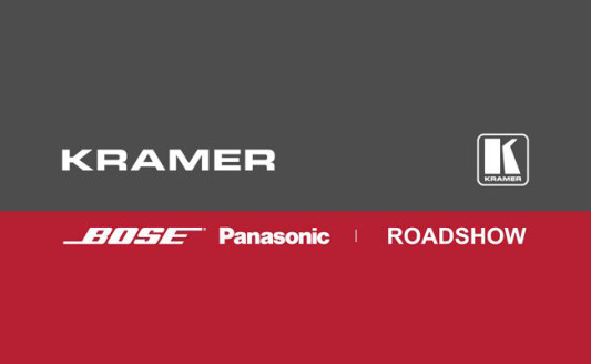 Kramer e Bose insieme per il Roadshow
