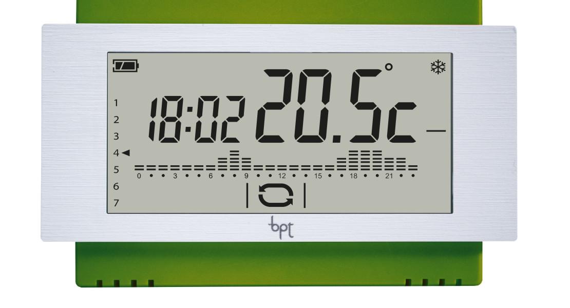 Nuovi termostati bpt for Bpt ta 600