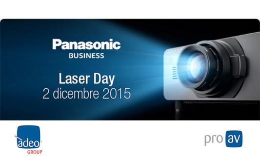 Adeo vi invita al Panasonic Laser Day