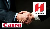 Canon, via libera al canale di distribuzione Hesa