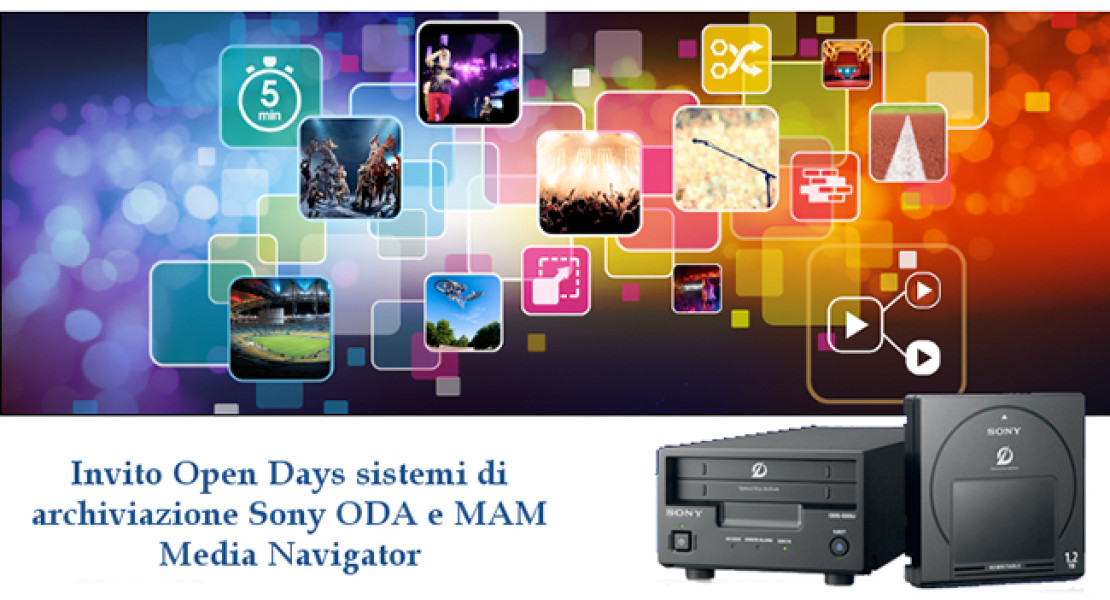 Sony ODA, scopri la tecnologia da MCA a fine novembre