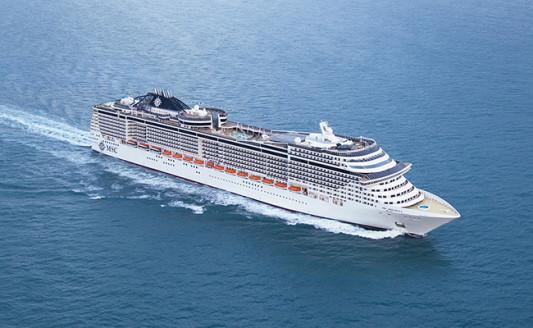 Sulle navi MSC con le novità Vimar