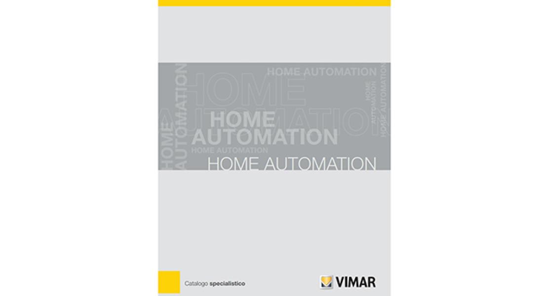 Tutta l'home automation di Vimar è nel nuovo catalogo