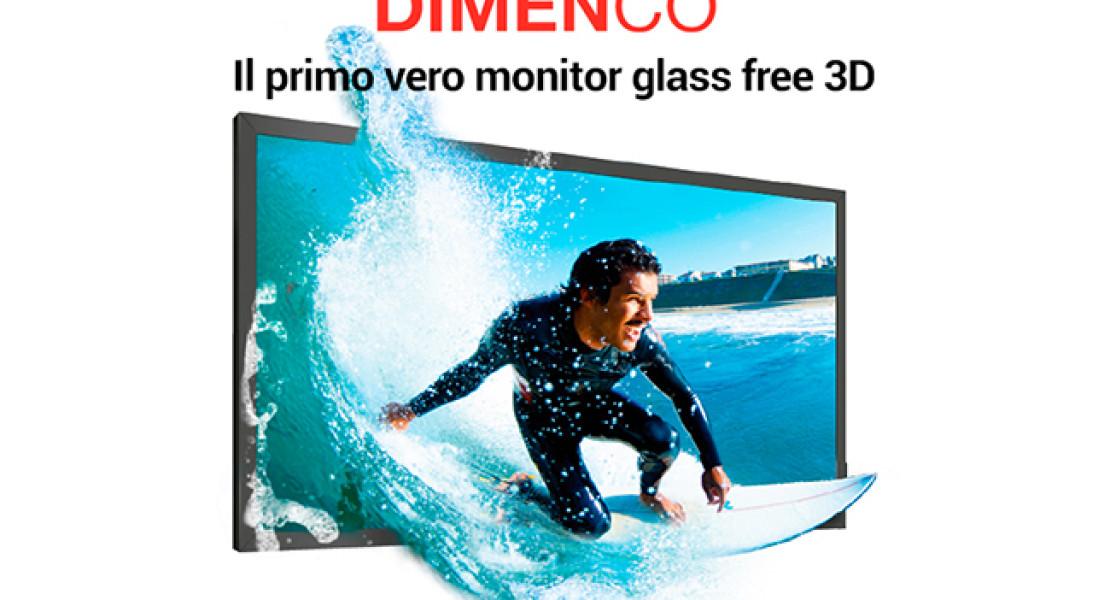 Schermo 3D senza occhiali: all'ISE con Euromet