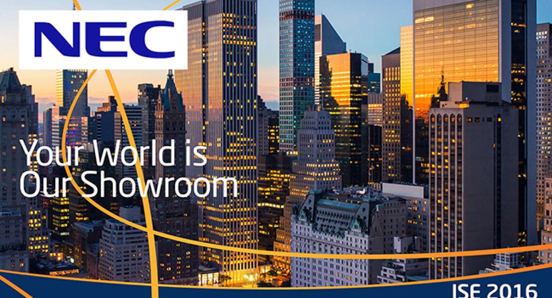 NEC Display Solutions, un vero successo all'ISE 2016