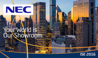 NEC Display Solutions, un vero successo all'ISE 2016