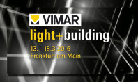 A Light+Building c'è Vimar tra i protagonisti
