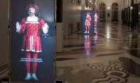 Interagire direttamente con Leonardo, a Milano, grazie a NEC