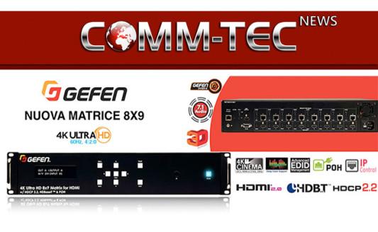 L'Ultra HD facile per 9: è la nuova matrice Gefen