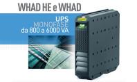 Nuovi UPS Whad HE ad alta efficienza