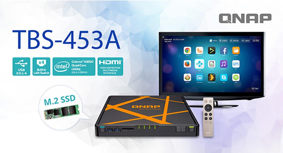 QNAP TBS-453A: il primo NAS e protezione RAID con switch di rete integrato