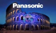 Panasonic illumina d'amore il Colosseo