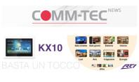 RTI presenta il nuovo Touch-panel KX10