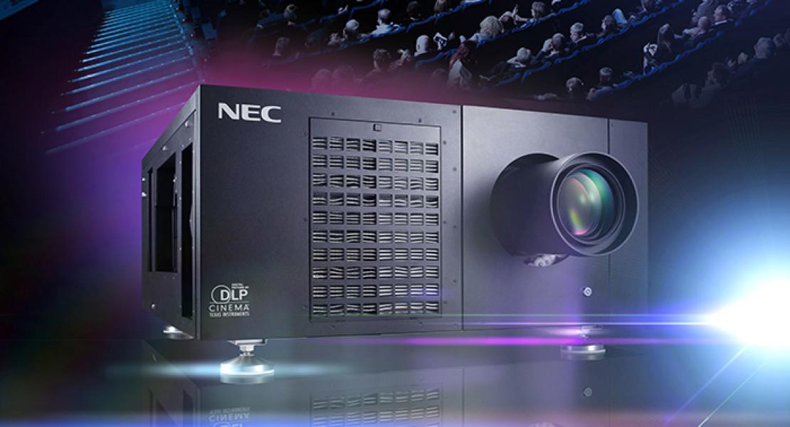 Videoproiezione laser, il cinema digitale incorona NEC