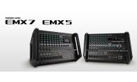 Yamaha presenta i mixer ad alimentazione portatili EMX5 e EMX7