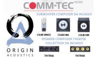 Origin Acoustics Serie Composer, grandi prestazioni da incassare