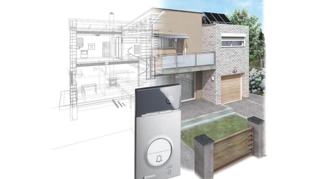 BTicino Linea 3000: nuove pulsantiere videocitofoniche per ville e abitazioni indipendenti