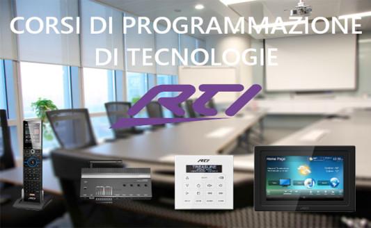 Corso RTI, appuntamento il 15 e 16 settembre