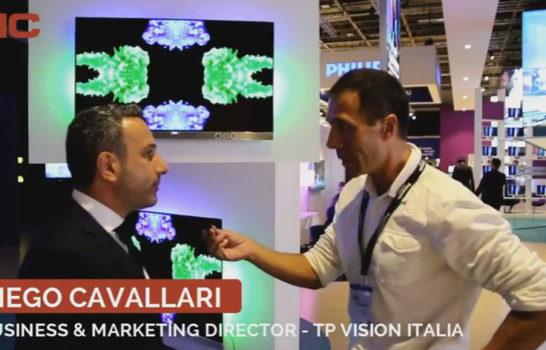 Intervista a Diego Cavallari, TP Vision Italia