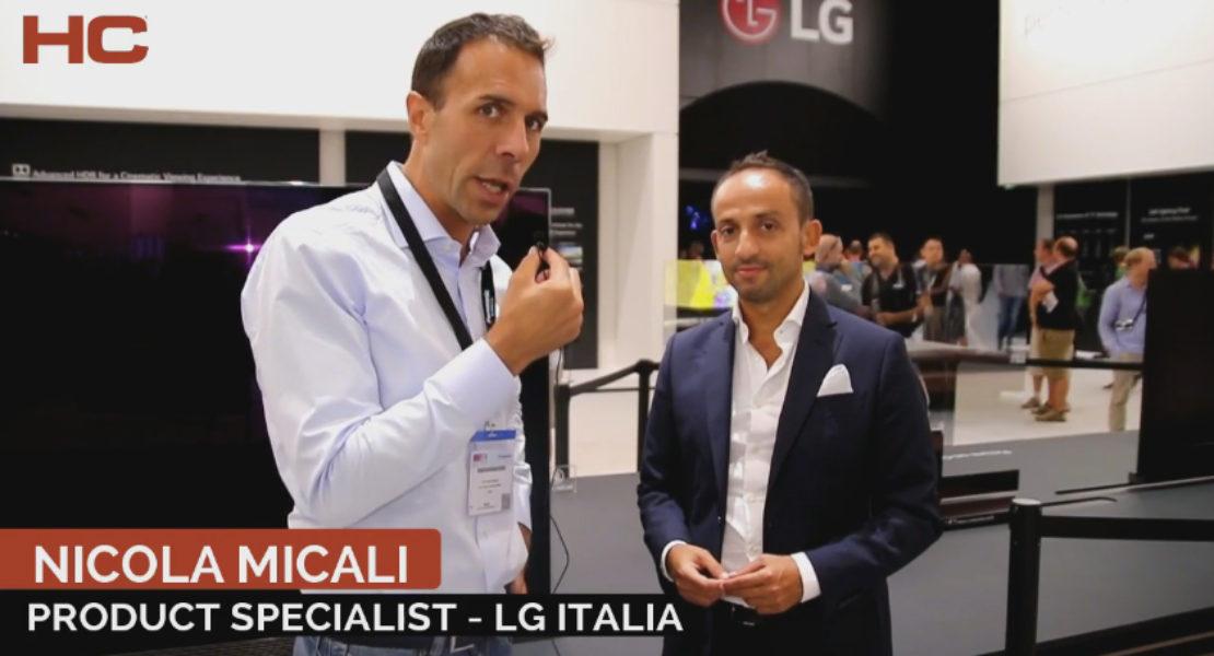 Intervista a Nicola Micali, LG Italia