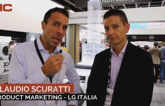 Intervista a Claudio Scuratti, LG Italia