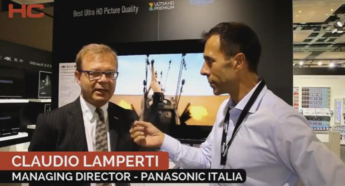 Intervista a Claudio Lamperti, Panasonic Italia