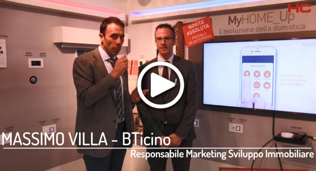 Intervista a Massimo Villa, BTicino