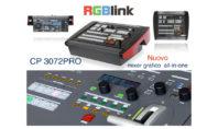 RGBlink CP 3072PRO, un mixer che fa per due