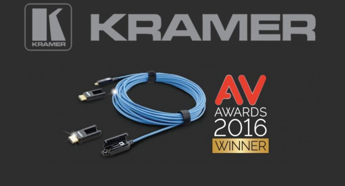 Al Kramer CLS-AOCH/XL il premio di accessorio AV dell'anno