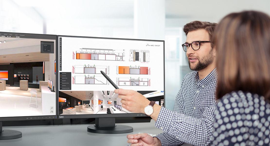 NEC, produttività al top con i display certificati TCO