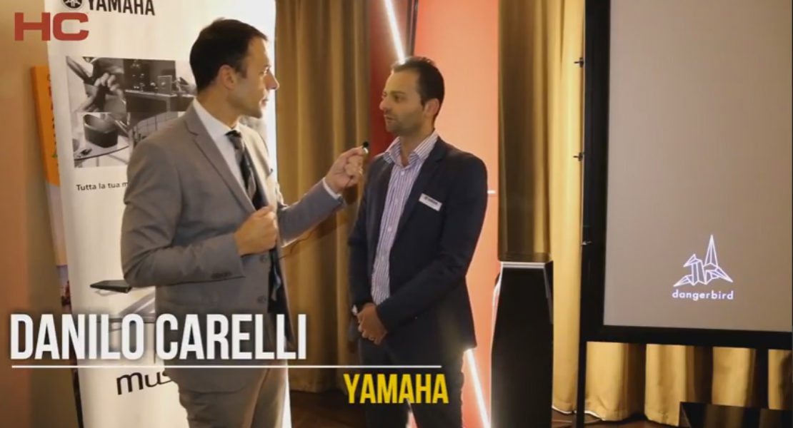 Intervista a Danilo Carelli, Yamaha Europe