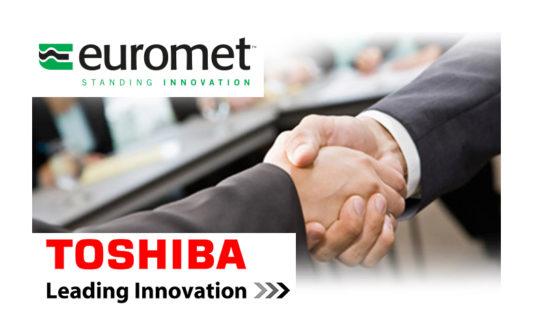Euromet e Toshiba, partnership vincente